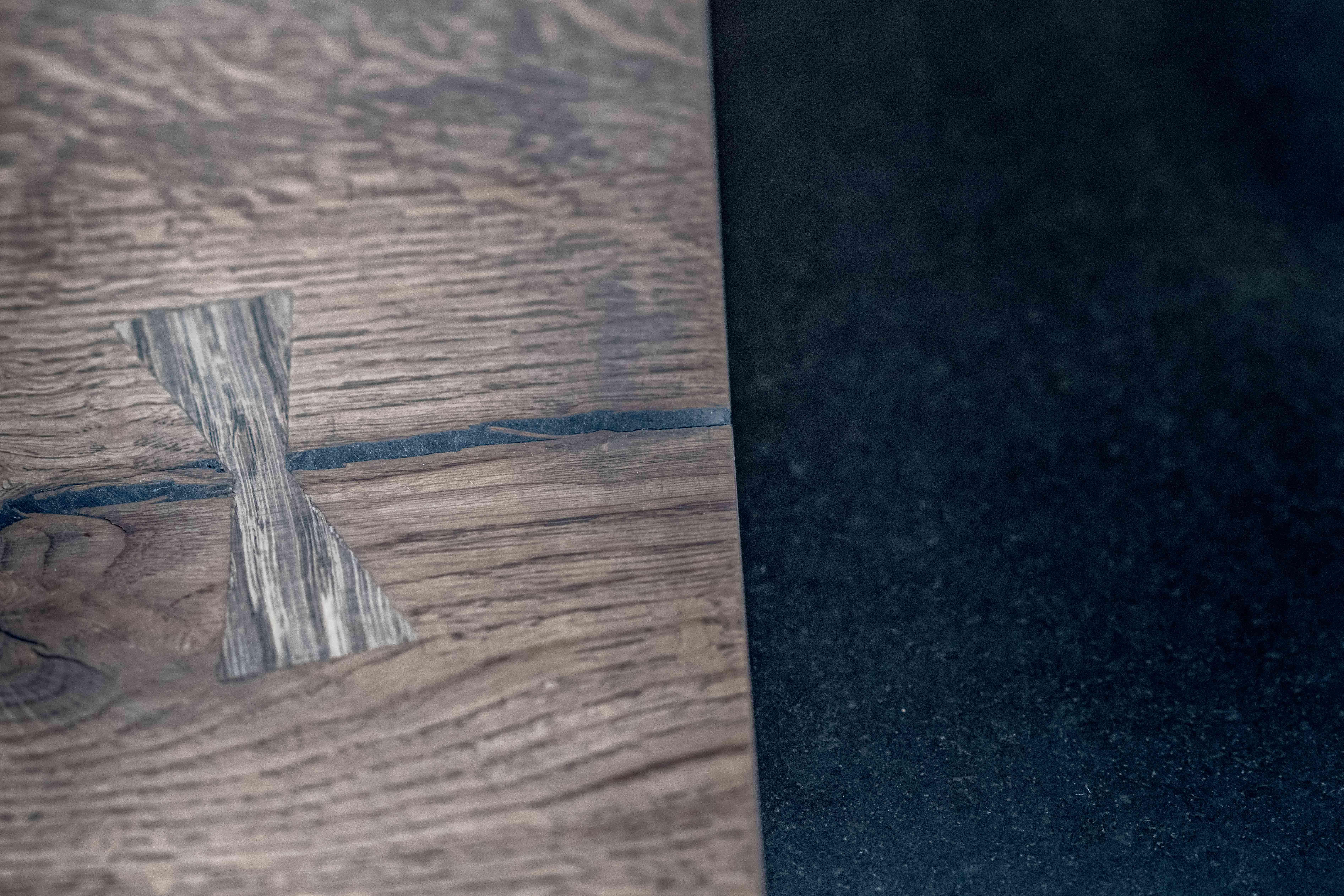 sprække revne i plankebord
